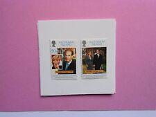ASCENSION ISLAND: 1992 Royal Wedding 2vals MNH Sg744/5