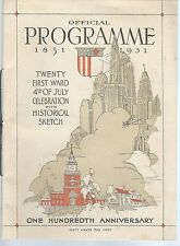 21st Ward Philadelphia PA 4th of July Parade Association ORIGINAL Programme 1931