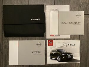 NISSAN X-TRAIL OWNERS HANDBOOK USER MANUAL & WALLET SET T32 2014-2017 DCI DIG-T