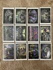 Vintage 2001 A&A Industries Homies Stickers Full Set 12 black white holo rare!