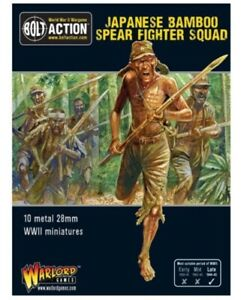 Warlord Games Japanese Spear squad IN STOCK