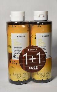 Korres Citrus Showergel 2x250 ml / 2x8.45 Fl Oz