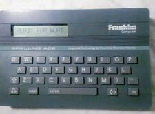 Technology Diccionary Spelling Linguistic Franklin Computer Ace Webster Sa-98