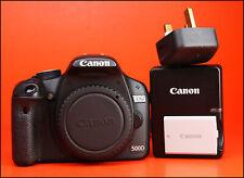 Cámara Réflex Digital Canon EOS 500D Solo Cuerpo d + Cargador de batería y Canon Canon LP-E5