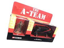 Corgi Cc87502 - The A-Team Van With Hand Painted Figure B.A. Baracus (Mr. T)