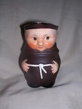 W. Goebel Friar Tuck Brown Small Pitcher / Creamer S 141 /1, Free Shipping