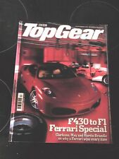 TOP GEAR MAGAZINE DEC-2004 - Ferrari 575 GTC, Vanquish S, Golf GTi, Discovery V8