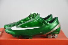 Nike Mercurial Vapor IV 4 FG Gr. 41 UK 7 Classic Boots Green soccer Shoes
