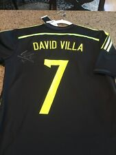 ab95209ff Adidas BNWT Spain 2012 Away Jersey- David Villa  7   SIGNED