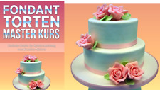 Fondant Torten backen wie vom Konditor ( Video Kurs )