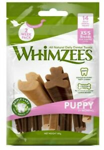 WHIMZEES Puppy 2-18KG Natural Dental Dog Chews Long Lasting Treats