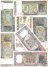 100 Rupees Republic India Bank notes Signature Set @ Uncirculated Condition