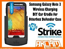 STRIKE ALPHA SAMSUNG GALAXY NOTE 3 WIRELESS CHARGE CRADLE OTTERBOX DEFENDER DIY