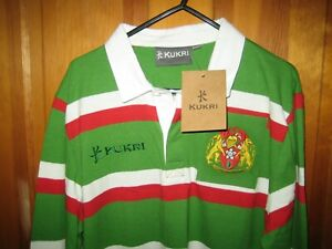 Leicester Tigers Rugby Shirt Mens 125 Years Welford Road Classic - Medium - NEW