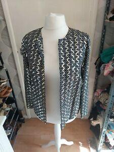 "Ladies Vintage 'John Neville' Glittery Sequin Covered Jacket. 40"" Chest(14-16)"