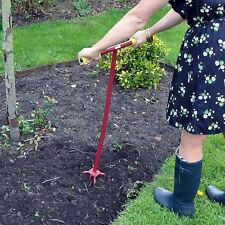 Long Handled Garden Cultivator Weeding Twist Hand Tool by Kingfisher