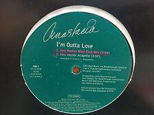 "ANASTACIA I'm Outta Love 12"" vinyl EX 1999 Promo single Hex Hector"
