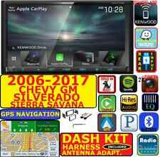 2006-17 CHEVY GMC KENWOOD BLUETOOTH GPS NAVIGATION  APPLE CARPLAY ANDROID AUTO