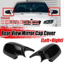 For BMW E90 E91 E92 E93 Facelifted Gloss Black M3 Style Side Mirror Cover Caps