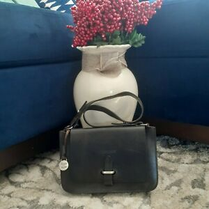Dooney & Bourke Alto Bag Made In Italy Vintage Black
