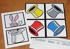 Mr. Rabbit`s Colorful Hat trick -- nice item for living room kidshows       TMGS