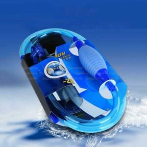 Aquarium Filter Fish Tank Stools Sand Cleaner Vacuum Gravel Siphon Cleaning Tool