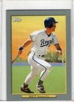 2020 TOPPS BASEBALL INSERT CARD # TR-42-  HOF GEORGE BRETT - KANSAS CITY ROYALS