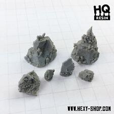Crystalic Rocks Basing Kit - HQ Resin