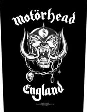 Motorhead Back Patch: England