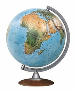Nova Rico Tactile Relief Illuminated Globe - 30 cm