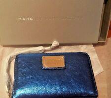 MARC BY MARC JACOBS Classic Q - Metallic Scuba Blue Wingman iPhone Wristlet