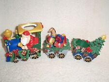 Partylite Santa Train Tealight Holder - Holiday!