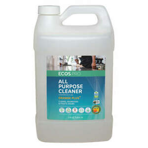ECOS PRO PL9706/04 All Purpose Cleaner,Liquid,1 gal.