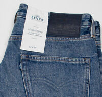 HERREN LEVI'S MADE & CRAFTED JEANS STUDIO TAPER W32 L34 NEU BIG E