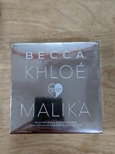 Becca Khloe Malika BFFs Bronze, Brush & Glow Palette - New SILVER Packaging