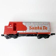 Mattel Hot Wheels Railroad Sto N Go Santa Fe LocomotiveTrain Engine 1983 Vintage