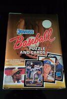 "1987 DONRUSS BASEBALL WAX BOX ""CASE FRESH""-W/ BONDS JACKSON MADDUX ROOKIE PSA"