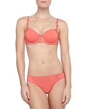 Simone Perele ANDORA Coral Gold 131343 3D Molded T-Shirt Bra 32E  131700 Thong M