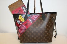LOUIS VUITTON Ltd Edición Kabuki Neverfull MM