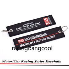 Car Styling GSXR Racing Key Ring Embroidery Keychain Luggage Tag for Suzuki 32#