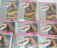 Vtg 1970's Lot of 160 Mystic Stretch Nylon Pantyhose, Coffee, Beige Petite