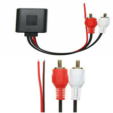 Bluetooth AUX Cable Adapter For 12V Vehicles With 2RCA Interface Phone Pad MP3X1