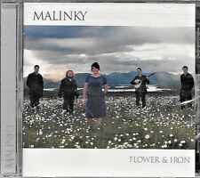 MALINKY Flower & Iron CD 2008 NEW Mad River Records FREE SHIP TRACK CONT US