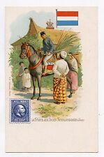 La poste au INDES NEELANDAISES (Java) . The Post Office . Dutch East Indies