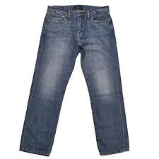 Lucky Brand Jeans 221 Original Straight Blue Denim Mens Pants 30 32 34 36 38 New