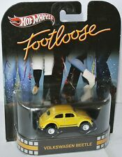 Retro Entertainment VW VOLKSWAGEN BEETLE * FOOTLOOSE * 1:64 Hot Wheels