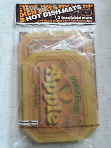 Mom's Pie Co Ballonoff Insulated Hot Dish Mats New Free Ship!
