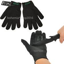 2x Stechschutzhandschuhe Kettenhandschuh Metzger S M Sicherheits-Handschuh