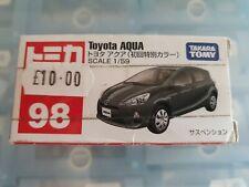 Takara Tomy 1:59 diecast Toyota Aqua