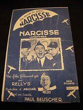 Partitura Narcisse Lambeth Walk Restaurantes Music Sheet